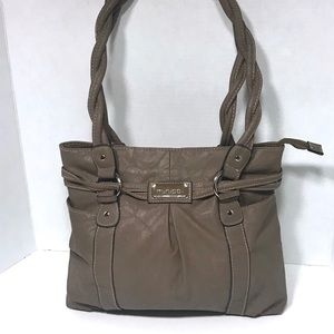 EUC Minicci Dark Tan Shoulder Bag